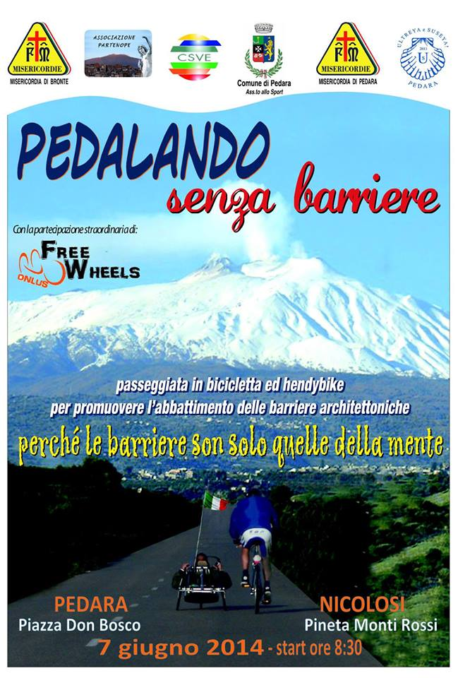 Pedalando senza barriere ESCAPE='HTML'
